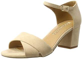 Buffalo David Bitton Shoes 315267 IMI Suede BHWMD A16, Women's Ankle Strap Sandals,(37 EU)