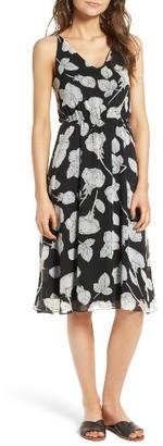 Women's Soprano Floral Blouson Midi Dress $45 thestylecure.com