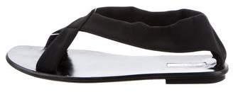 Calvin Klein Canvas Crossover Sandals