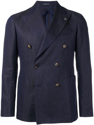 Tagliatore double buttoned suit jacket