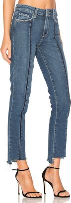 PAIGE Vintage Julia Uneven Hem $269 thestylecure.com