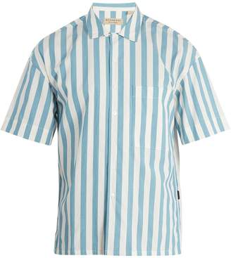 Burberry Harley vertical-striped cotton shirt