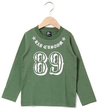 RAD CUSTOM (ラッド カスタム) - RAD CUSTOM 天竺ナンバーTシャツ ベベ オンライン ストア カットソー
