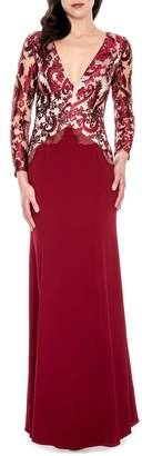 Decode 1.8 Burgundy Gown