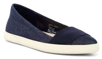 Jones New York Hannah Denim Slip-On Shoe $59 thestylecure.com