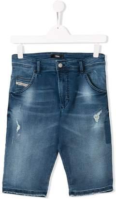 Diesel distressed shorts