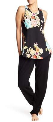 Natori Fleece Lined Lounge Pants