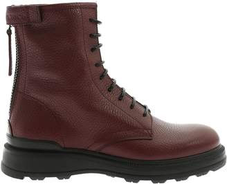 Woolrich Hammered Leather Boots
