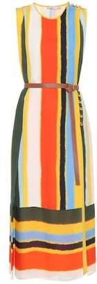 Tory Burch Bettina striped silk dress