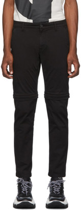 Kenzo Black Zip-Off Trousers