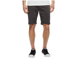 Lucky Brand Stretch Sateen Flat Front Shorts