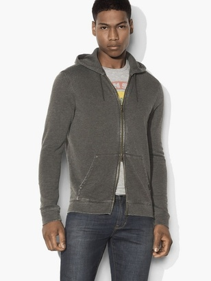 Burnout Zipped Hoodie $148 thestylecure.com