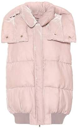 Stella McCartney Velvet quilted vest