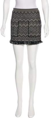 Missoni Fringe Mini Skirt