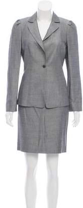 Tahari Woven Skirt Suite