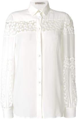 Piccione Piccione Piccione.Piccione floral detail shirt