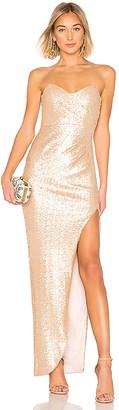 Nookie Adele Sequin Gown