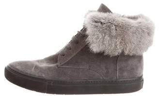 Vince Suede Low Top Sneakers