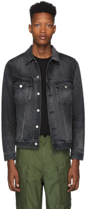 John Elliott Black Denim Thumper Type III Jacket