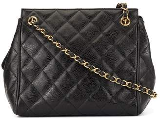 Charm & Chain Chanel Pre-Owned logo charm chain bag