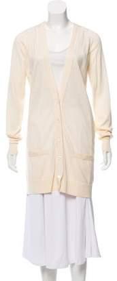 Saint Laurent Wool Button-Up Cardigan