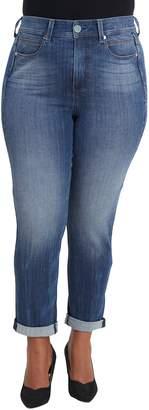 Seven7 Tummyless High Rise Roll Cuff Slim Fit Jeans