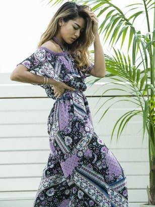 Million Carats (ミリオン カラッツ) - Million Carats ペイズリーオールインワン[DRESS/ドレス] ミリオンカラッツ パンツ/ジーンズ