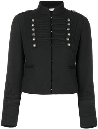 RED Valentino cropped braided military jacket