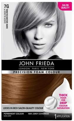 John Frieda Precision Foam Colour 7G Dark Golden Blonde 130ml