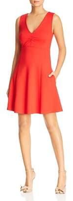 Kate Spade Sleeveless V-Neck Ponte Dress