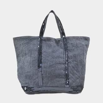 Vanessa Bruno Sequins and linen Medium + tote $250 thestylecure.com