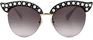 Gucci Opulent Luxury Pop Glitter Sunglasses