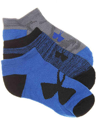 Under Armour UA Training Youth No Show Socks - 3 Pack - Boy's