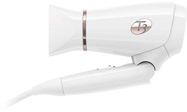 T3 Featherweight Compact Dryer in White/Rose Gold