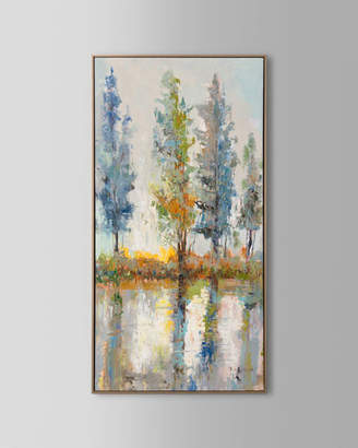 "John-Richard Collection Fachuans Vibrant Timber"" Oil Painting on Canvas Art"