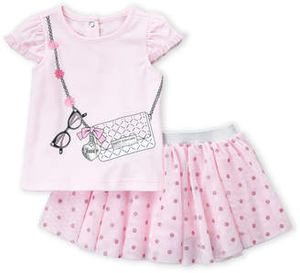 Juicy Couture Infant Girls) Two-Piece Juicy Purse Top & Tutu Skirt Set