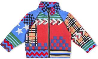 Burberry Graphic Print Jersey Track Top