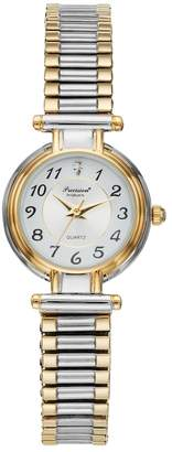 Gruen Precision By Precision by Women's Two Tone Stainless Steel Expansion Watch