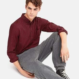 Uniqlo Men's Faux Shearling Fleece Easy Pants