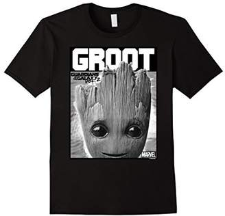 Marvel Guardians Vol. 2 Baby Groot Close-Up Graphic T-Shirt