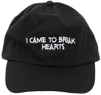 Nasaseasons BREAK HEARTS EMBROIDERED BASEBALL HAT
