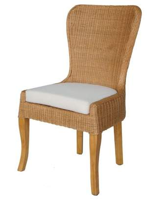 New Pacific Direct Sophie Rattan Dining Chair,Set of 2