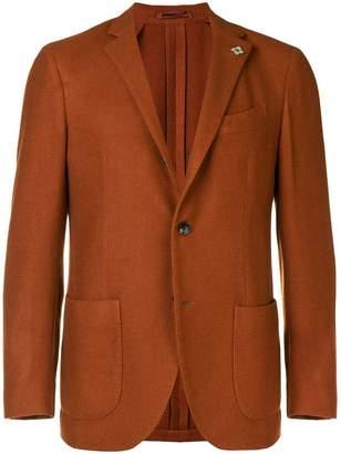 Lardini plain single breasted blazer