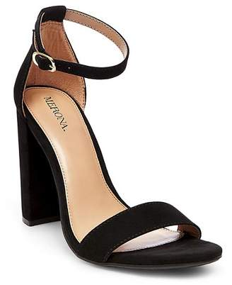 Merona Women's Lulu Block Heel Sandals $29.99 thestylecure.com