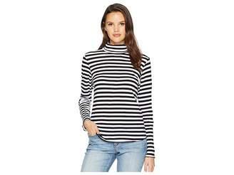 LnA Stripe Long Sleeve Turtleneck