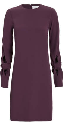 Victoria Beckham Victoria, Knotted Sleeve Crepe Dress