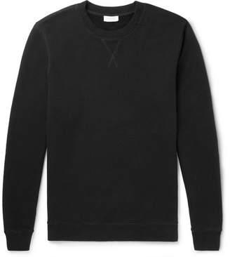 Sunspel Brushed Loopback Cotton-Jersey Sweatshirt
