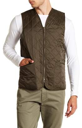 Barbour Eaves Zip Up Quilted Vest