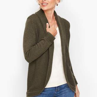 Talbots Mix Stitch Cocoon Sweater