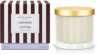 Henri Bendel Lavender & Cotton Scented Candle